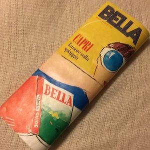 Kate Spade Bella magazine clutch bag